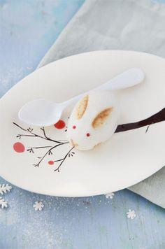 Rabbit steamed bun
