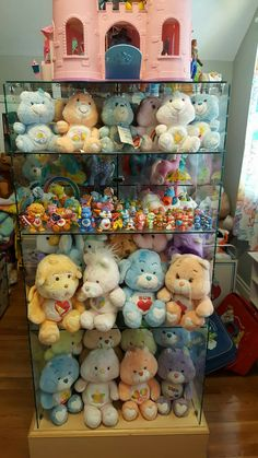 This is someone's collection from the Care Bear Group on Facebook *sigh*