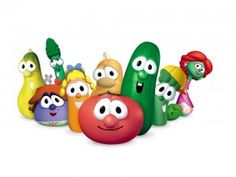 Veggie Tales, still a classic! Love those songs; Sport Utility Vehicle, my Baby Elf, I love my lips........ lol