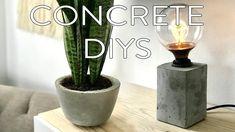 Video: Concrete DIYs