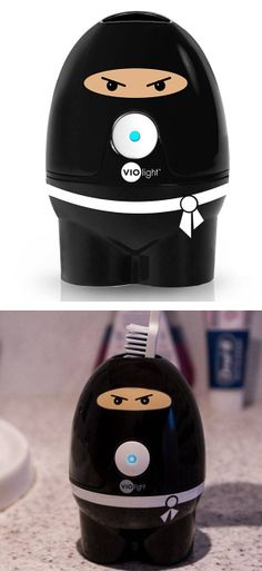 Ninja toothbrush sanitizer