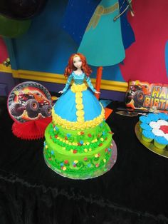 Brave cake! Awesome