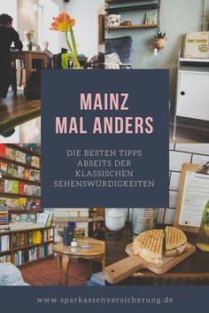 Wo gibt es die besten Cafés in Mainz? Wo kann man in Mainz gut shoppen? Wir haben die besten Tipps für eine Städtereise nach Mainz, ganz abseits der klassischen Sehenswürdigkeiten. Mainz mal anders.