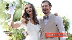 Delibal full izle Romance Movies Best, Old Wedding Dresses, Turkish Beauty, Adam And Eve, Turkish Actors, Movies And Tv Shows, Flower Girl Dresses, Bride, Couples