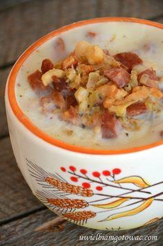 Uwielbiam gotować: Smalec z kiełbasą i cebulą
