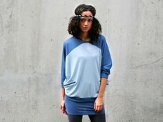 Sweatshirts - eisbörg Shirt #streetwear #fashion #design #blue
