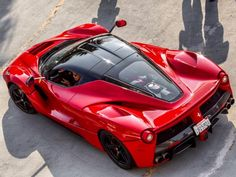 """liquidnonsense: """"There may be no car more artfully sculpted than the Ferrari LaFerrari. Not only is the design beautiful to look at, but also highly functional—each curve and fold is designed to. Luxury Sports Cars, Top Luxury Cars, Exotic Sports Cars, Exotic Cars, Ferrari Laferrari, Ferrari Car, Jaguar Accessories, F12 Berlinetta, Jaguar Xk"""