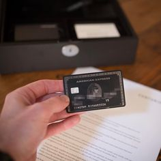 Amex centurion black card business pinterest black card i was always super curious about these things until one literally landed on my doorstep the amex centurion black card made from titanium has some colourmoves