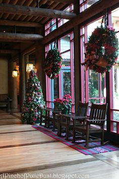 Wilderness Lodge.  Someday I want to use moose antlers in my Christmas wreathes.