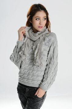 Long Sleeve Pullover Sweater - BuyTrends.com