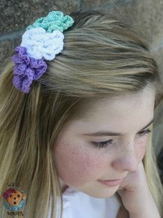 Pixie Blossom Comb free crochet pattern