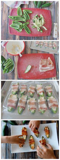 Stuffed Jalapeño's Recipe