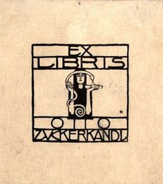 Koloman Moser bookplate