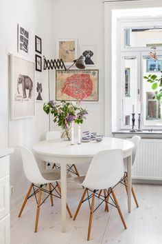 Erik Olsson Fastighetsförmedling - Kök-konst-ljust-tavla-tragolv-matplats-erikolssonfastighetsformedling - My home
