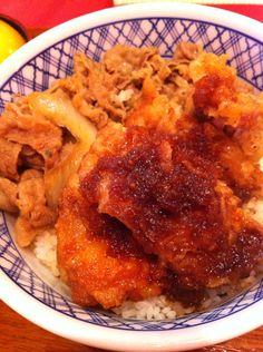 吉野家唐揚雞丼飯