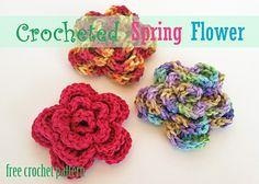 Ravelry: Spring Flower pattern by Sarah Miller