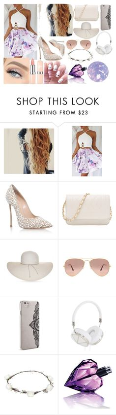 """""""like an opal beyond precious"""" by ivy-mary-clark ❤ liked on Polyvore featuring Casadei, Nine West, Ray-Ban, Nanette Lepore, Frends, Lipsy, Diesel and SpaRitual"""