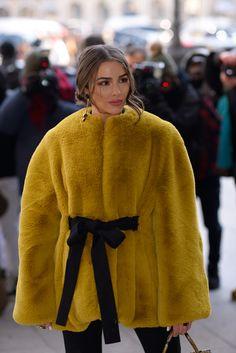 Olivia Culpo wearing Lanvin.