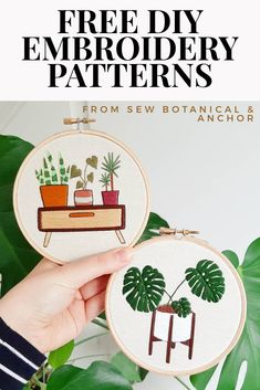 Discover recipes, home ideas, style inspiration and other ideas to try. Hand Embroidery Patterns Free, Embroidery Stitches Tutorial, Embroidery Sampler, Embroidery Flowers Pattern, Learn Embroidery, Embroidery Hoop Art, Embroidery Ideas, Free Cross Stitch Patterns, Simple Embroidery Designs