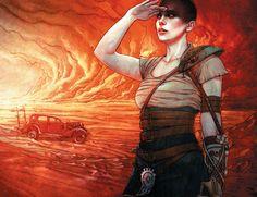 Mad Max Fury Road - Furiosa fan art