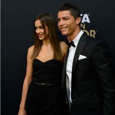 Fútbol en el corazón | Revista Ellas | Panamá Las novias del Mundial. El futbolista de la selección nacional portuguesa Cristiano Ronaldo y la modelo rusa Irina Shayk.