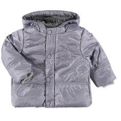 BELLYBUTTON Baby Jacke silver grey #Kinderwinterjacke #Kinderskijacke #grau #daunenjacke #bellybutton #warm #kuschelig #Kinder #Mädchen #jungen