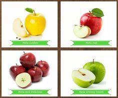 Quale varietà di mele preferisci? Dicci la tua... www.neartoyou.it