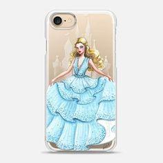 iPhone 7 Case Hello Princess, Transparent
