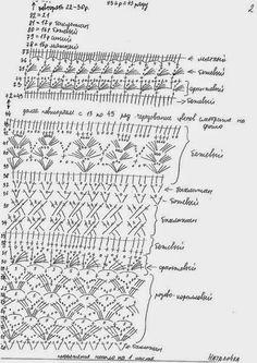 crochelinhasagulhas: Saia em crochê by Giovana Dias