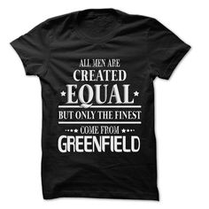 Men Are From Greenfield - 99 Cool City Shirt !