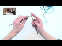Knitting Help - Cable Cast-On - YouTube