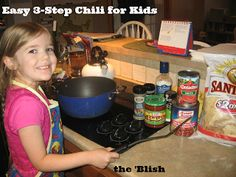 #4 most-read post of the week 2/16/18 | Easy 3-Step Chili for Kids