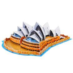 [$6.29] 3D Puzzle Sydney Opera House Card Kit (58pcs)