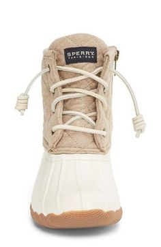UGG BOOTS, Sperry 'Saltwater' Waterproof Rain Boot (Women) (Nordstrom Exclusive) available at Crazy Shoes, Me Too Shoes, Uggs, Shoes 2018, Estilo Fashion, Look At You, Shoe Closet, Mode Style, Jordan Shoes