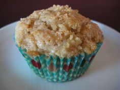 Ms Not So Perfect...: Apple for the Teacher Muffins. I added some apple juice because I thought it was a little thick and then off course some pumpkin spice. (only half of the cinnamon too)