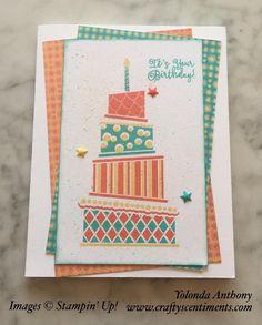 Cake Crazy Stamp Set - Stampin' Up!