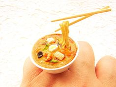 Kawaii Cute Japanese Food Ring Floating  by SouZouCreations, $16.50