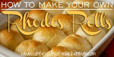 How to make your own frozen Rhodes Rolls - DIY!