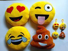 #emoji #emoticon #emojicon #pillows #keychain @ toptrenz