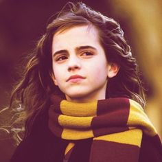 """I think Hermione is a new kind of role model. She is incredibly smart... and powerful... and strong. She really has a clear idea on what's right and what's wrong, and follows her heart, and goes against everything and everyone to do the right thing."" − Emma Watson on Hermione #emmawatson #hermionegranger #Padgram"