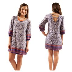 The perfect dress for all your spring occasions! $52 at www.therusticmule.com