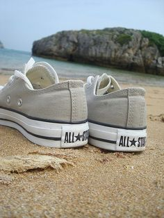 ace2262946f Loving the gray Converse!  lt 3 Tan Converse