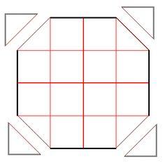 八角形の描き方2