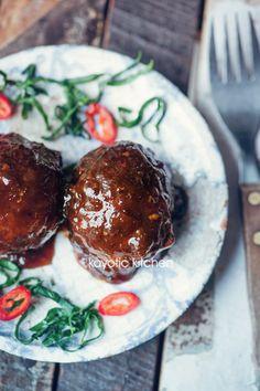 Indonesian Glazed Meatballs