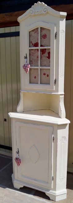 Vintage French Rococo Corner Unit Shabby Chic by AngilouGFF