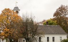 Vermont Church.  Visit our YouTube Channel to see our New England Fall Foliage videos.