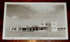POSTAL DE VILLA BENS. N. 70. SAHARA ESPAÑOL. PABELLONES DE AVIACION. FOTO HERNÁNDEZ GIL. FOTOGRABADO - Foto 1