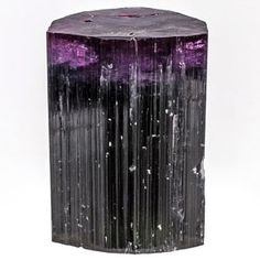 Tourmaline is of course not only one of the most popular gemstones, but also popular as a mineral for collectors, due to its supreme beauty. It occurs naturally in nearly every shade of the rainbow. However, this saturated, intense purple hue is among the most uncommon, particularly in a large crystal from Afghanistan where they tend to run in the pink or green colors.