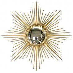 Grand miroir soleil chaty vallauris magnifique miroir de for Chaty vallauris miroir