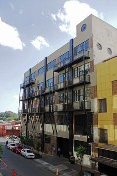 Maboneng Precinct :: Revolution House - Progressive Urban Space :: 21 Kruger Street, Johannesburg. Rooftop, South Africa, Revolution, Places To Go, Multi Story Building, The Unit, Exterior, Urban, Interior Design